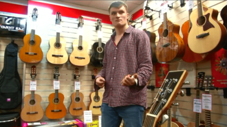 Stringless Guitar Lets You Make Music From Thin Air