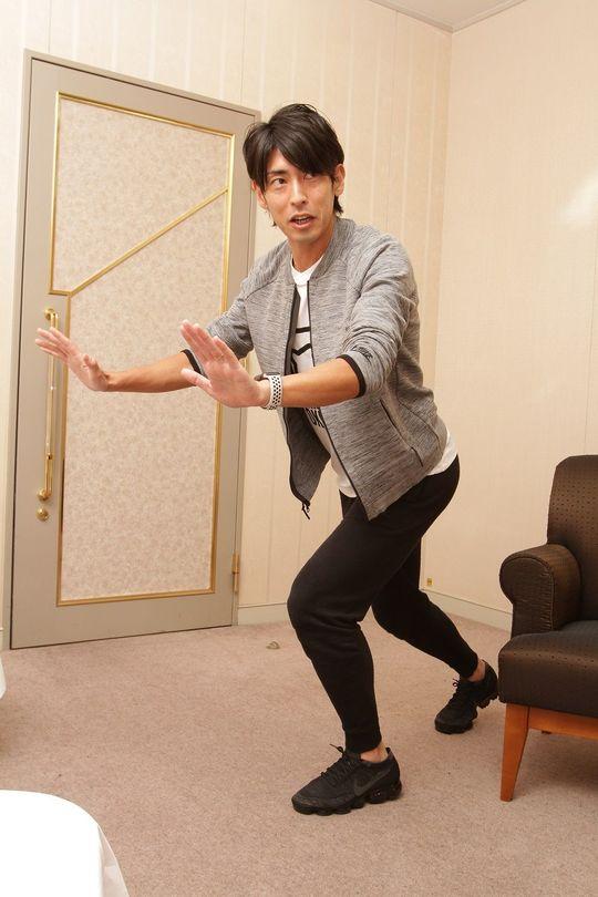 上体はまっすぐに伸びているほうが速く走ることができる(撮影:田所千代美)