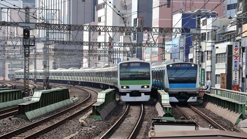 山手線と京浜東北線「並走区間」で速いのは? | 鉄道ビジネス ...