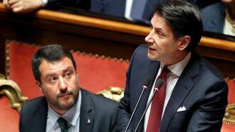 イタリア連立政権崩壊でまたも欧州の火種に