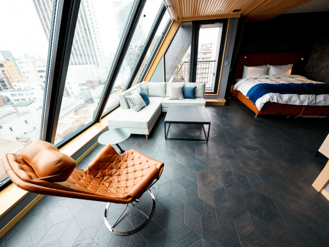 the best new hotels and hostels in tokyo 2017 | original | tokyo