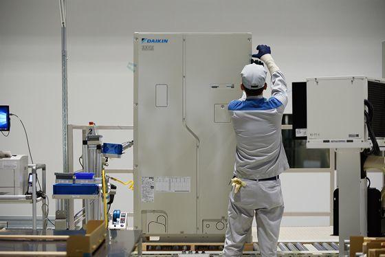 ダイキン「新工場のIoT化」に熱心な理由 | ダイキン工業 空気で ...