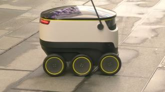 Self-Driving Delivery Robots Could be Santa's New Helper