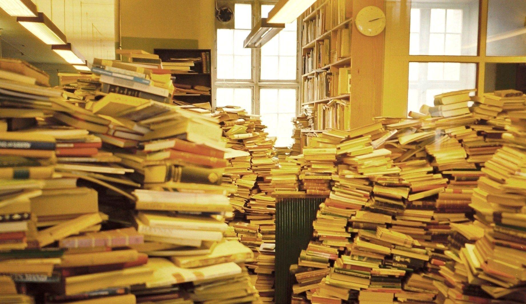 恐るべき重さ!本で床は抜けるのか