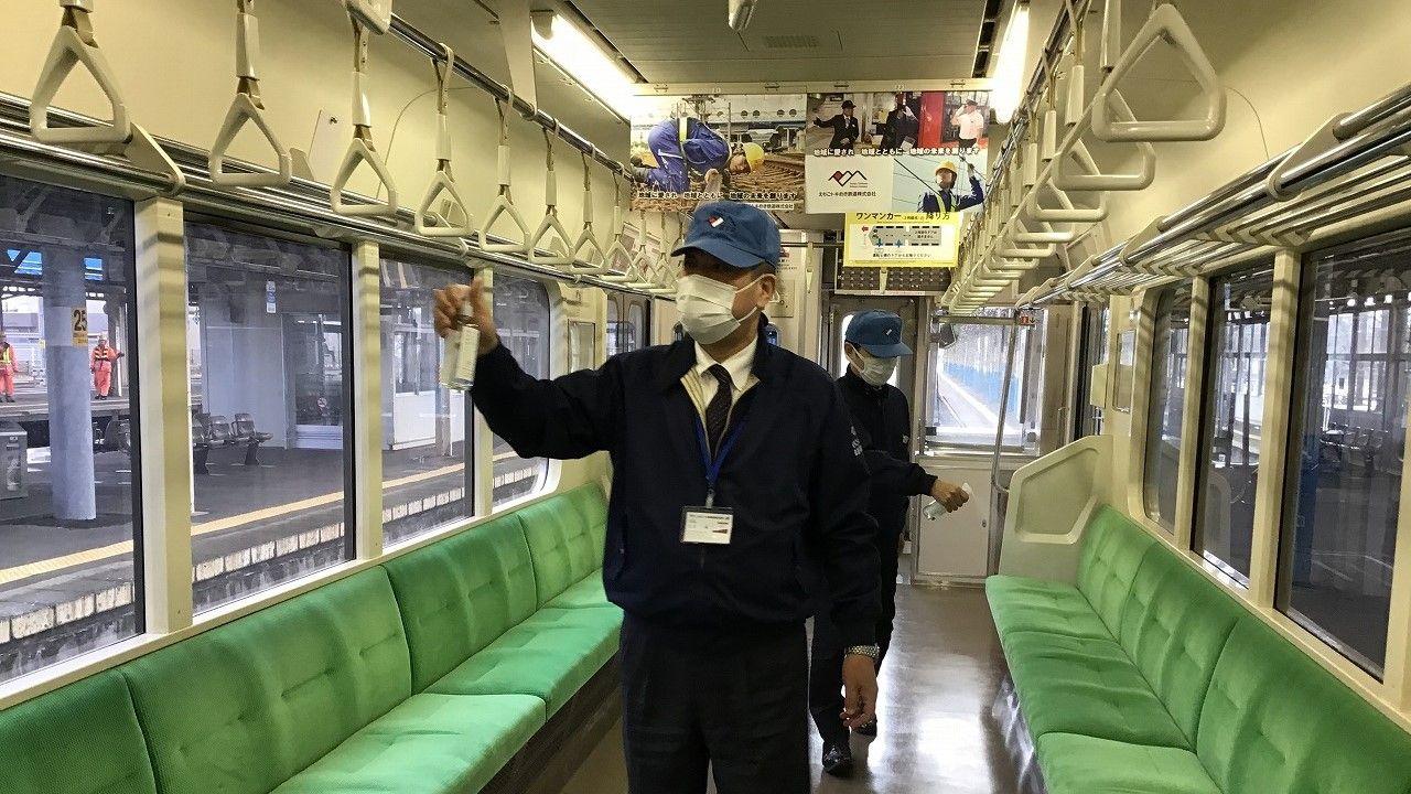 不明 電車 経路 感染