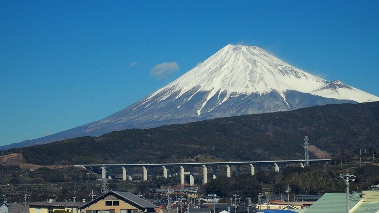 Mount Fuji Location